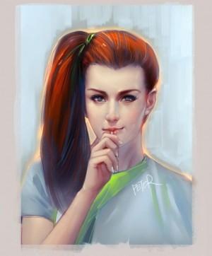 Portrair Illustration