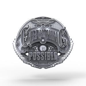 Aston Martin 3D Typography