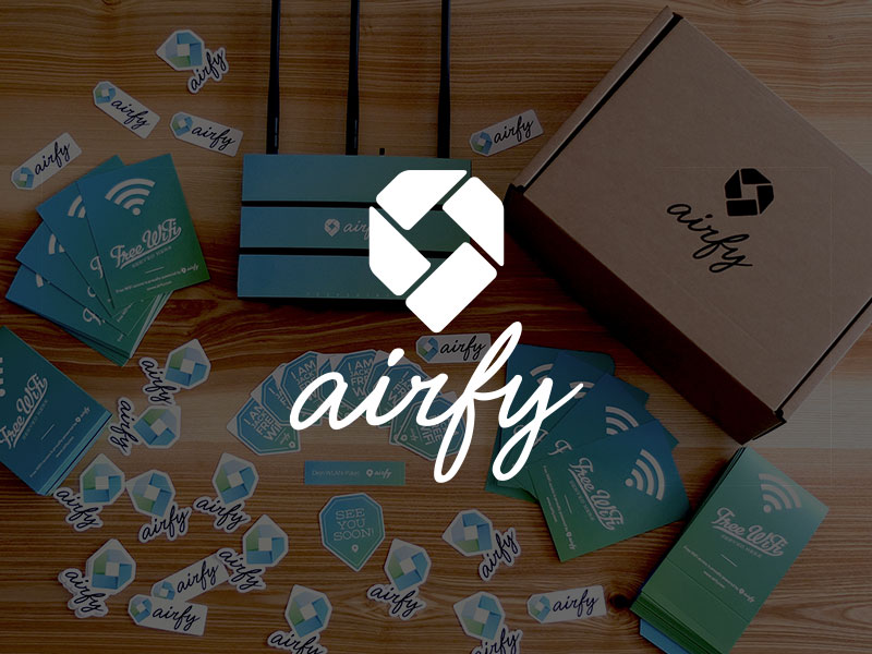 airfy — Designing better WiFi experience