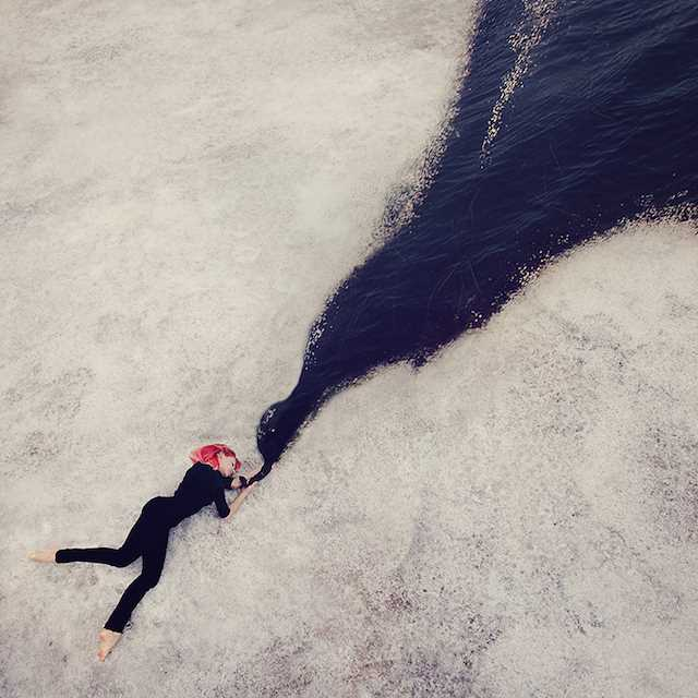 Fairy Self Portraits by Kylli Sparre | Fine Art Photography