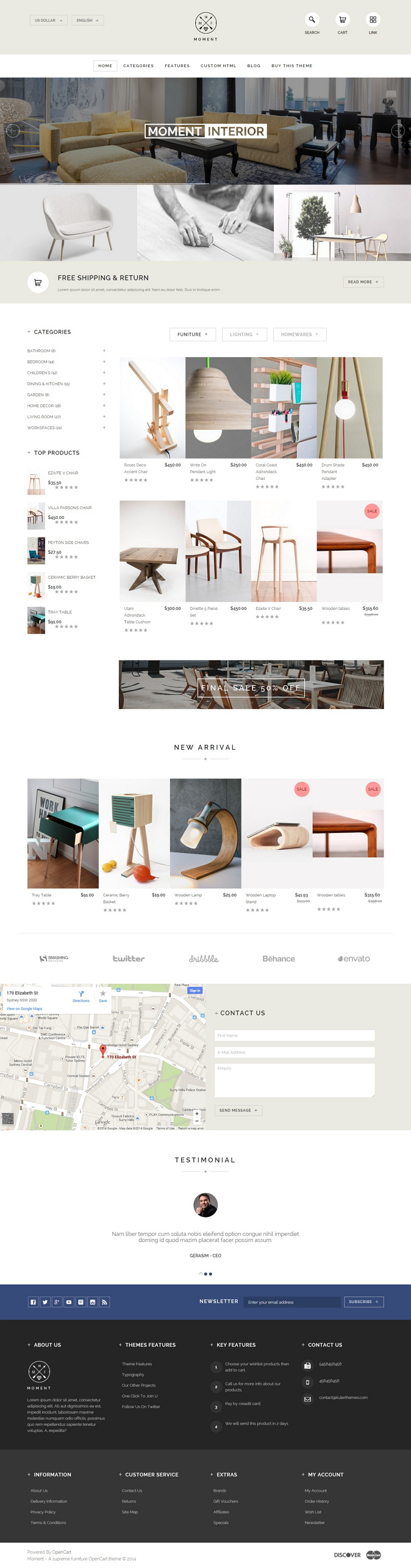 Moment has everything you need to establish a mind-blowing online furniture store. Shifting towa ...