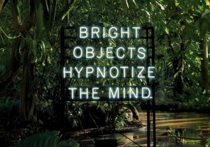 Bright Objects Hypnotize the Mind