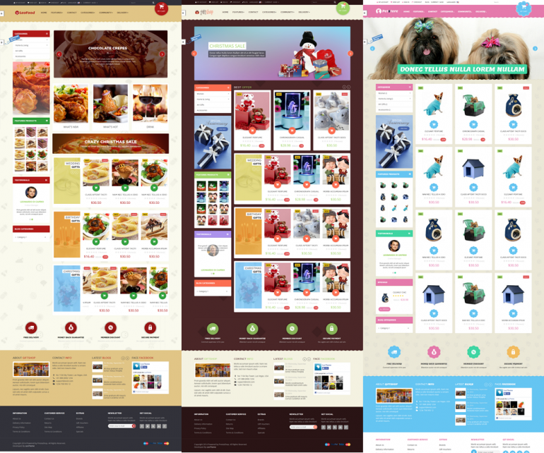 Leo Gift Shop is a modern responsive prestashop theme which is suitable for any eCommerce sites. ...