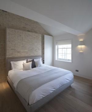 Modern Bedroom Design Grey White Bed