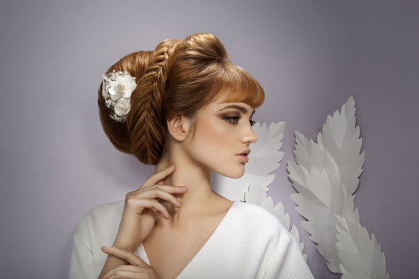 Moliabal Bridal Campaign | Beautiful Hair Style