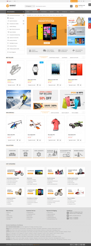 This responsive theme is a general purpose responsive theme which can be highly customized and t ...
