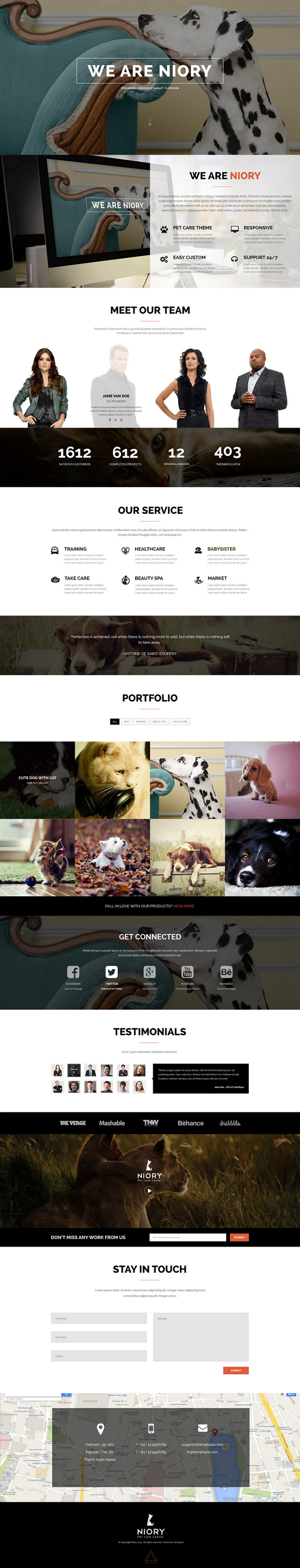Niory is a Fully responsive Joomla Template and Multipurpose template based on Bootstrap 3.1. fr ...