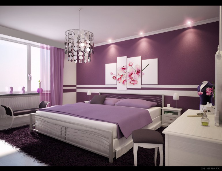 Awesome Colour Selection for Bedroom