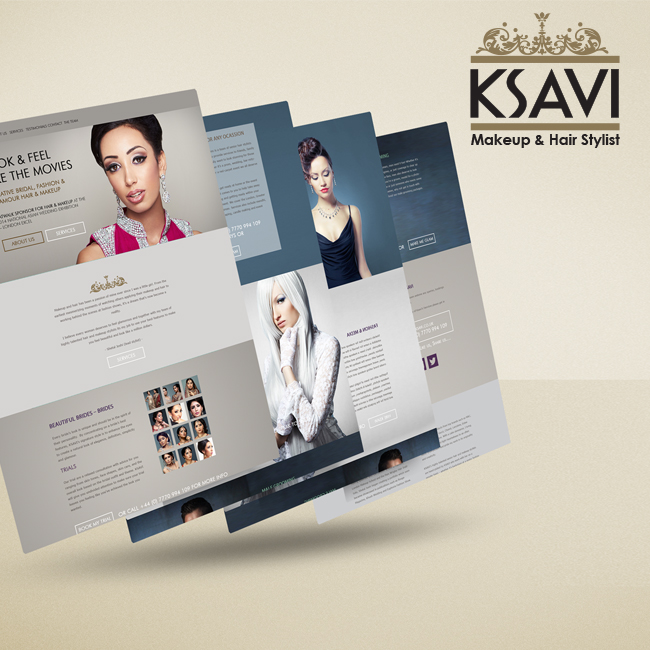 Portfolio update of KSavi #Webdesign