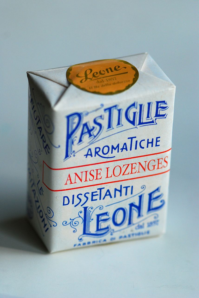 Lozenges packaging from Leone