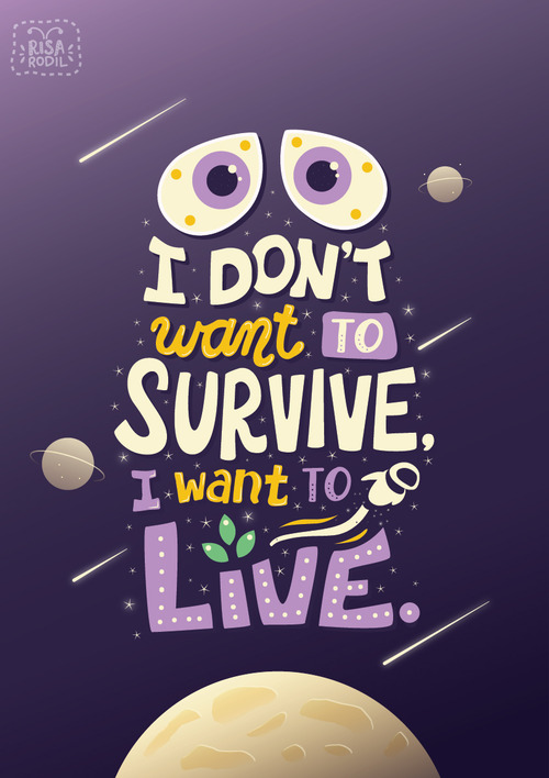 Art of Risa Rodil • Pixar Quote Posters 9/10:Wall-E