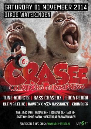 Festival poster and flyer – Hardstyle-scene