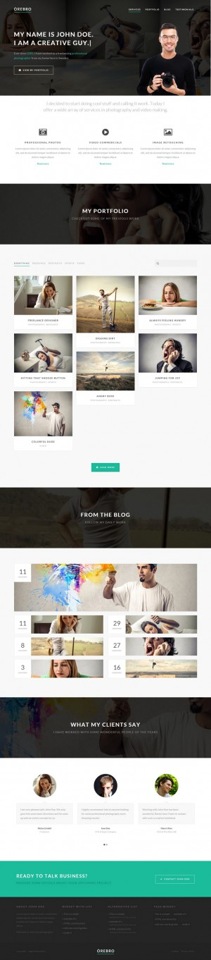 19 New Best Responsive Websites Themes (29th Oct 2014)