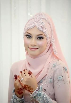 Bridal Hijab Style