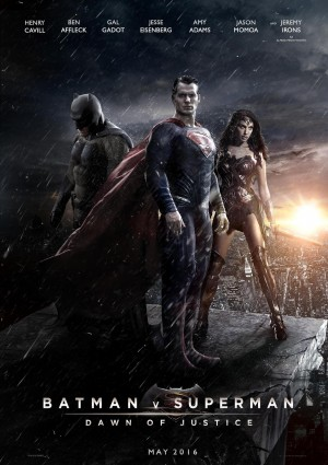 Batman v Superman – Dawn of Justice Movie poster