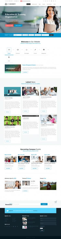 MyUniversity is a powerful responsive Education, College, University, School premium WordPress t ...