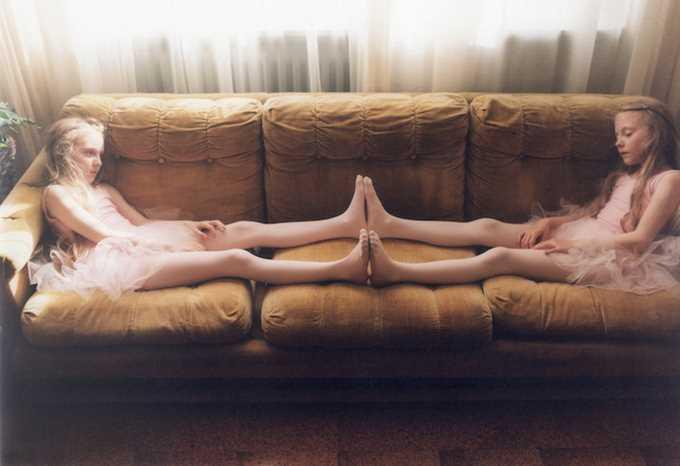 Erna and Hrefna by Ariko Inaoka