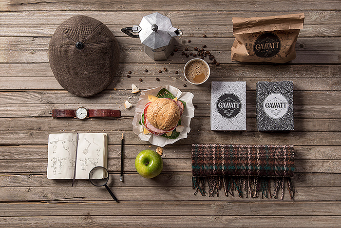 Gawatt Coffee Shop Branding by Backbone
