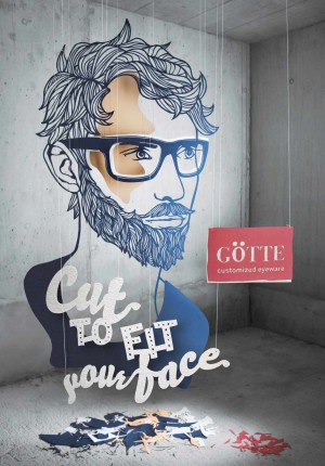 Cut to fit your face: Götte Customized Eyewear
