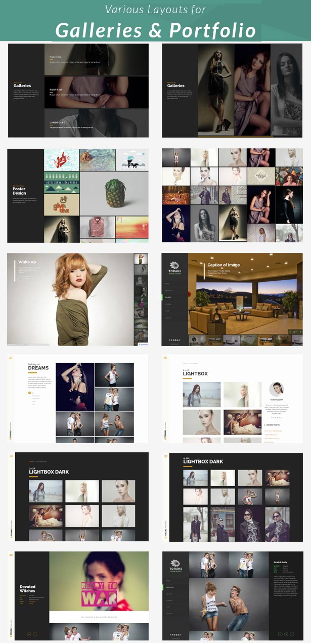 Toranj is an new creative Responsive Joomla Template.   This theme is comes with 4 different lis ...