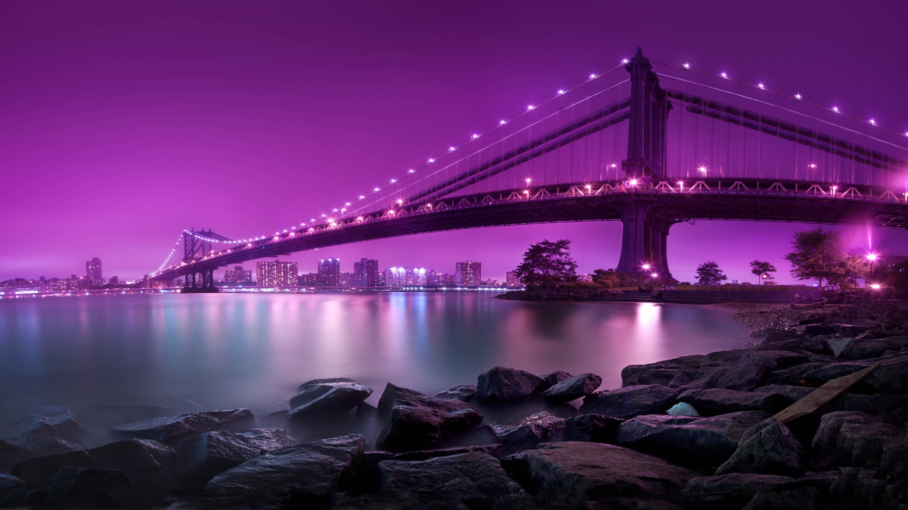 New York at Night – Photography Wallpapers