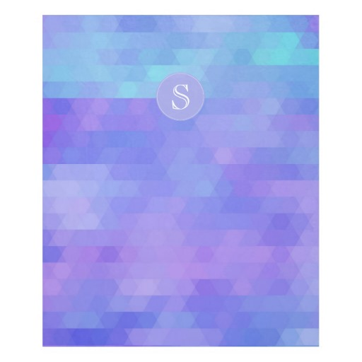 Personalized Monogram Geometric fleece blanket | Zazzle