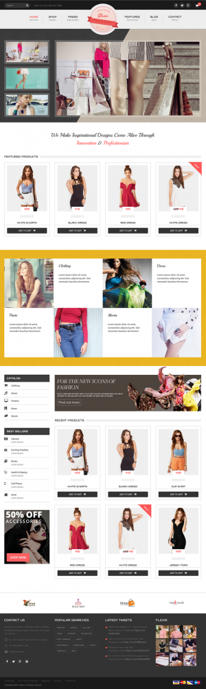 11 New Best Responsive Websites Themes (20th Oct 2014)