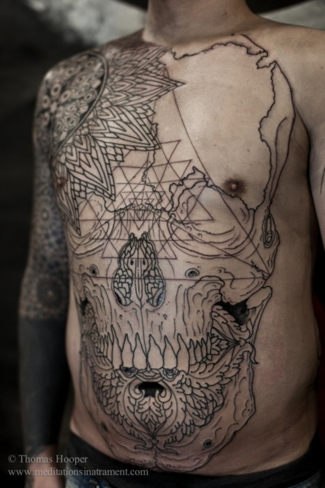 tattoo by Thomas Hooper