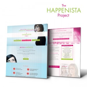 #Portfolio Update – #Webdesign – #Happenista project