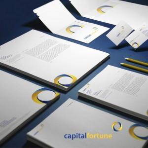 #portfolio update – Capital Fortune – #logodesign #graphicdesign #identitydesign