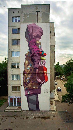 Amazing Street Art by Etam Cru | Sưu tầm | Pinterest