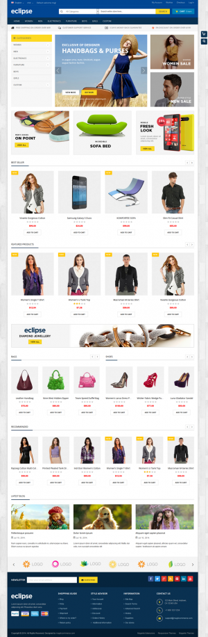 9 New Best Responsive Themes (5th Nov 2014)