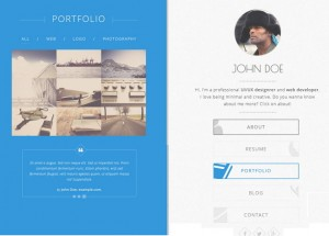 Balloon is a one page personal vCard template with clean responsive design. Balloon is very flex ...