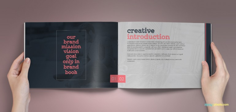 The Classic – Corporate Identity Guidelines Template