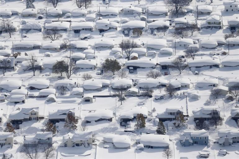 Buffalo News photographer took stunning snowstorm photos from the sky