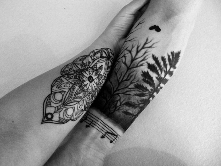tattoo by Estonian tattoo artist