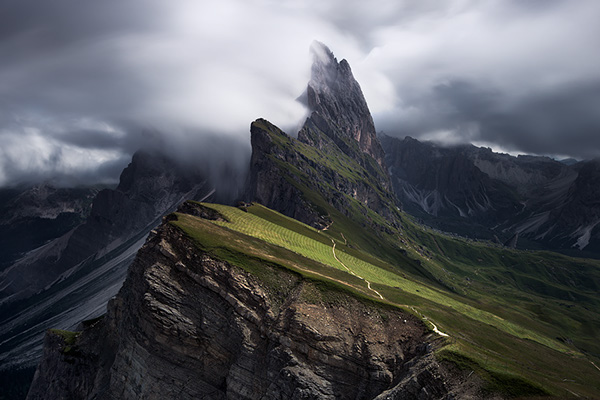 Landscape photography of the Italian Dolomites on Inspirationde