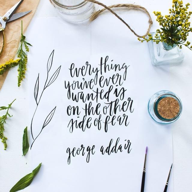 Jess Keala – Hand lettering