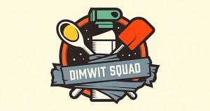Dimwit Squad | Logo Design
