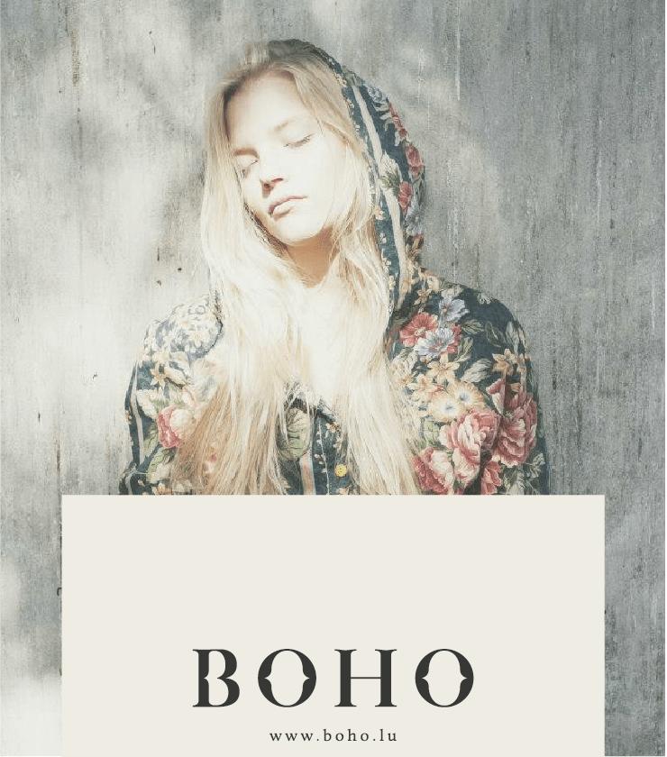 BOHO Cloth Branding by zofia szostkiewicz