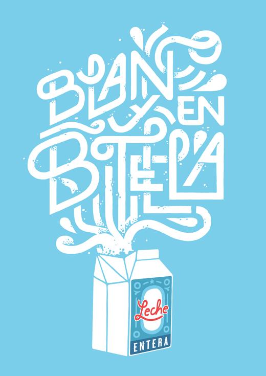 Blanco y en botella by Jorge Lawerta