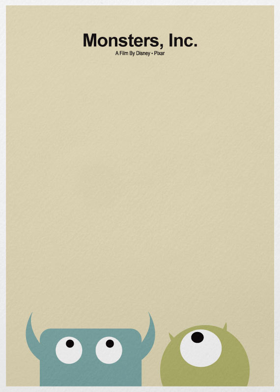Monsters, Inc. – A3 Poster