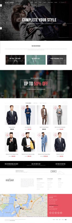 Ves GentShop is an new premium Magento Theme suitable for multipurpose eCommerce website.