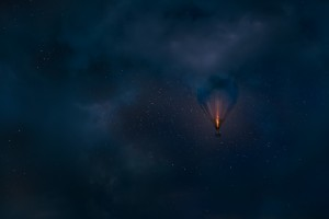 Night Flight by Mikko Lagerstedt