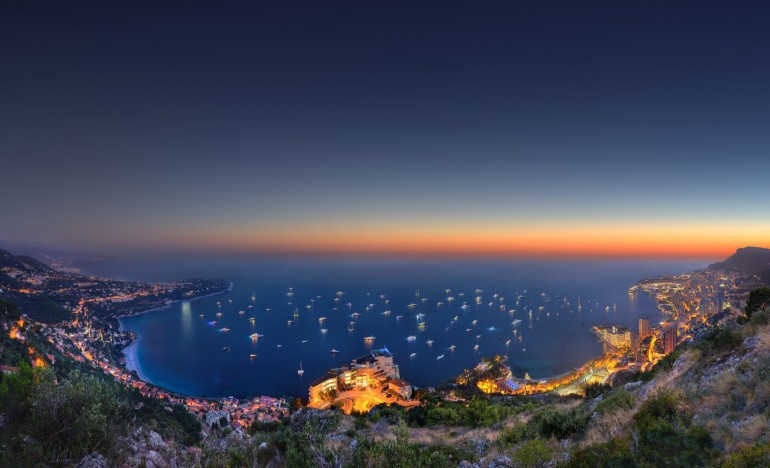 Monaco Cityscape – Photography Wallpapers