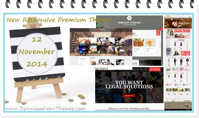 17 New Responsive Premium Themes (12 Nov 2014)