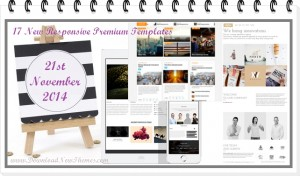 In this article, we have collected   17 new best Responsive websites themes of 21st November 201 ...