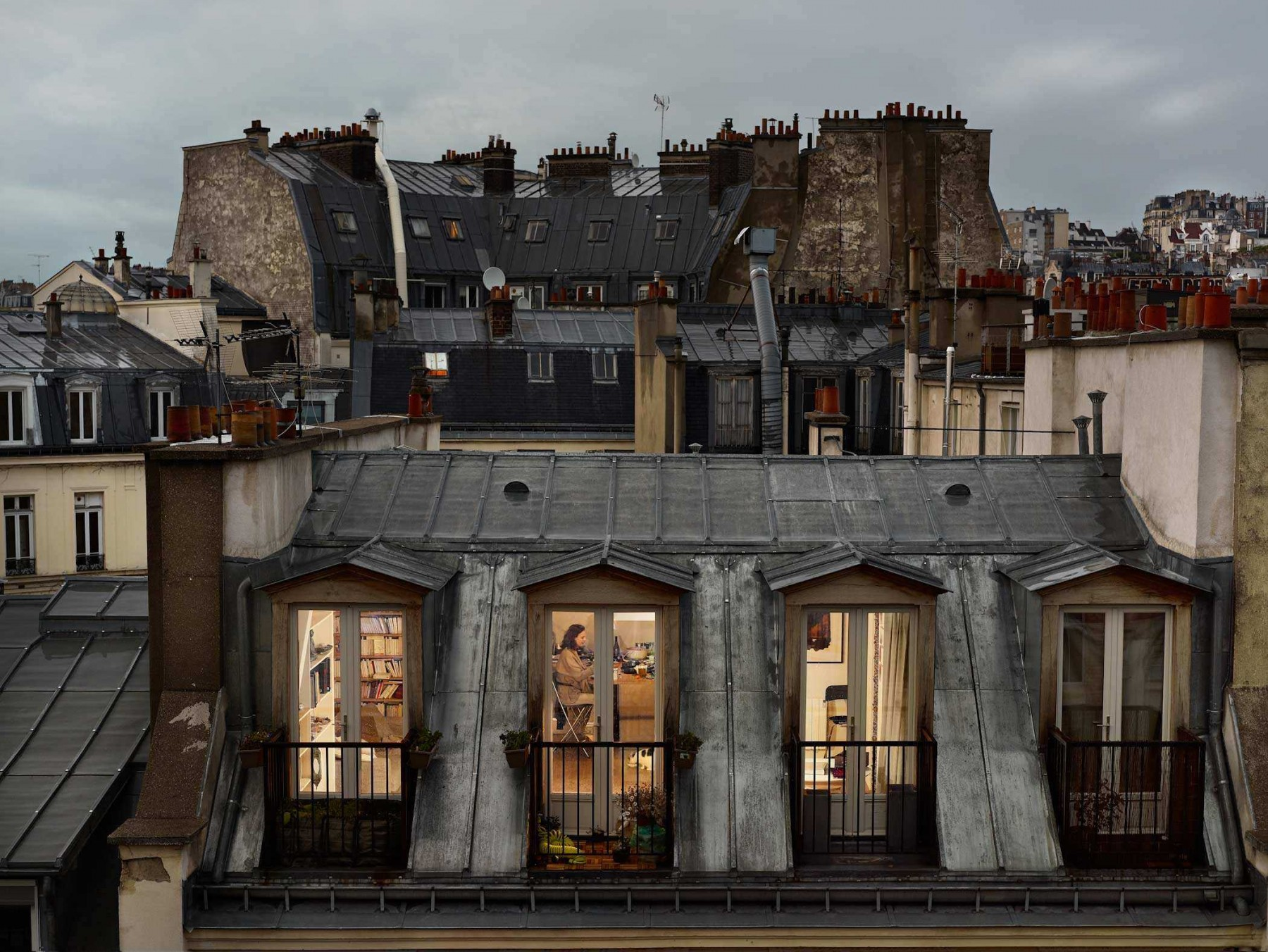 Out My Windows by Gail Albert Halaban