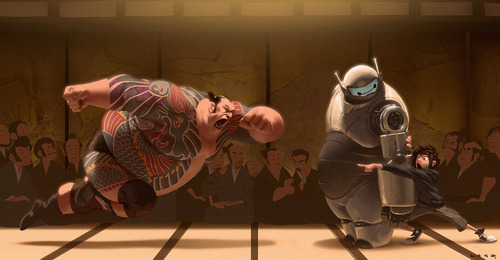 'Big Hero 6' Concept Art Reveals Alternate Visions of the Disney Animated Hit