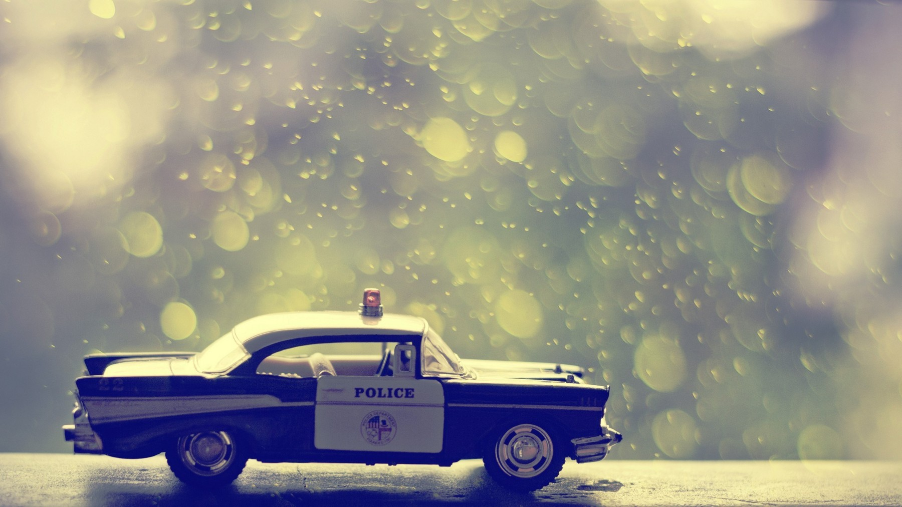 Toy Police Car – Photography Wallpapers